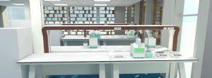 BIM Laboratory Design Potteau Example